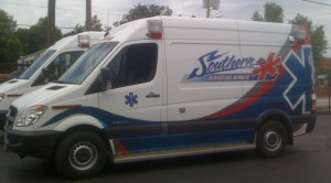 southern paramedic service sprinter ambulance by Miller Coach
