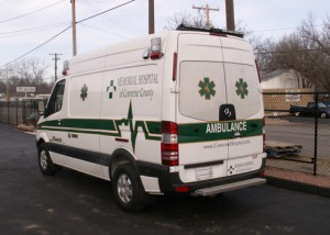Memorial Hospital of Converse County sprinter ambulance by miller coach