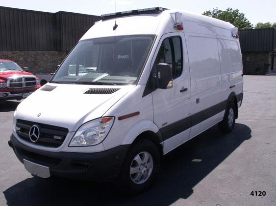 sprinter type ambulance for Crittenden EMS in Memphis Arkansas