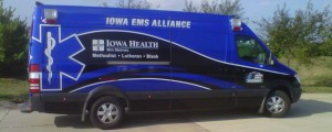 City of West Des Moines Ambulace by Miller Coach