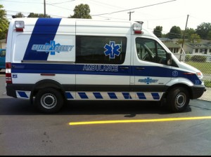 Greenup County EMS ambulance by Miller Coach in Springfield MO