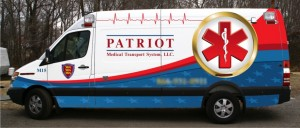 Patriot Medical Transport Sprinter ambulance by Miller Coach