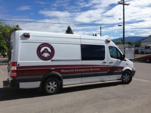Missoula EMSType II Sprinter ambulance