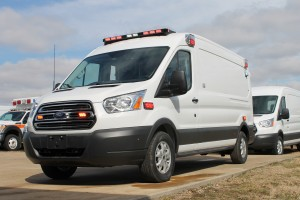 Careflite Type II Ford Transit ambulance